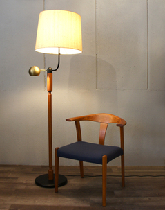 Teak center table floor lampbloggraphiobro stil teak two way floor lamp 1g mozeypictures Gallery