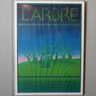 "1975 ""Jean Michel Folon"" Original Screenprint for the exhibition ""L'ARBRE"" in Gallery Marquet, Paris."