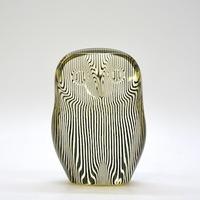 """60's Brazil """"Abraham Palatnik"""" Lucite Sculpture「Owl」.A"""