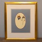 """1979 """"Erté"""" Lithograph """"The Mirror"""""""