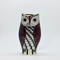 "60's Brazil ""Abraham Palatnik"" Lucite Sculpture「Owl」.B"