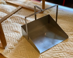 One Off Made Stainless Dustpan