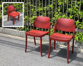 """Italy """"Cerantola"""" COLOS/PIAZZA1 Chair by Jun Yasumoto"""