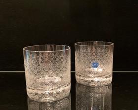 "Germany ""Rosenthal"" Romanz Glass by Bjorn Windblad 2P-set"