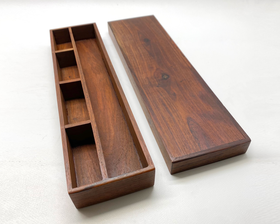 Vintage Hardwood Small Article Box