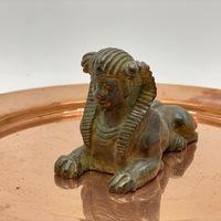 "Antique Bronze ""Sphinx"" Sculpture"