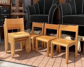 "Germany ""eide"" Beach Wood Kids Chair"