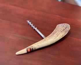 Austria Vintage Deer Horn Craft Wine Opener