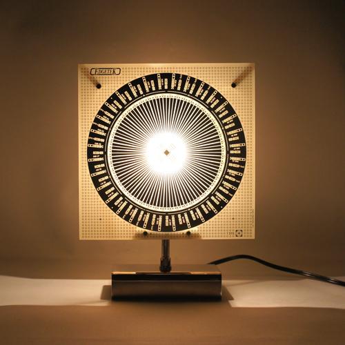 Luc Gensollen「ワープした光の流輝」