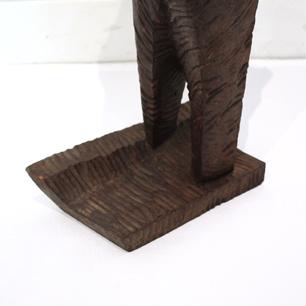 大原富夫 抽象木製彫刻