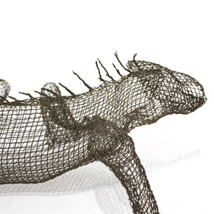 「Lizard」3Dワイヤーフレームオブジェ
