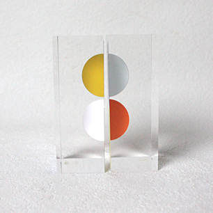 Agam「rendez-vous III」<br>KINETIC ART Sculpture