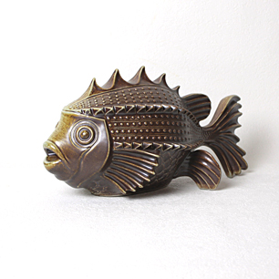 Goebel Porcelain Fish Figurine
