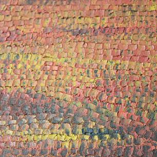 絵本作家が油絵で描いた赤い世界