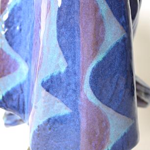 Ceramic Woman Head Figure
