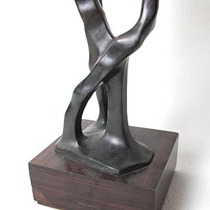 重岡建治 ブロンズ彫刻 無題