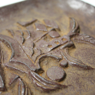 水船六州「魚」の珍しい立体作品