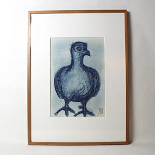 粟津潔 「青い鳥」