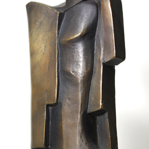 Pearson Bronze Abstract Sculpture