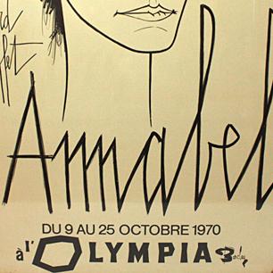 Buffet 「Annabel」 <br>オリジナルポスター