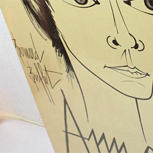 ビュッフェの広告仕事 舞台Annabelのポスター