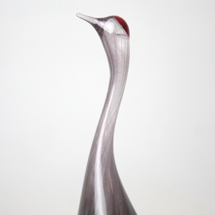 Kosta Glass 鶴