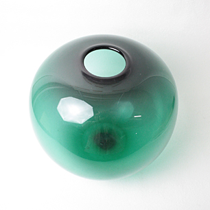 Willy Johansson「Hadeland」<br>Old Glass Vase