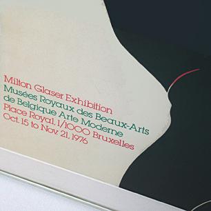 ミルトングレーザー 裸婦のグラフィック
