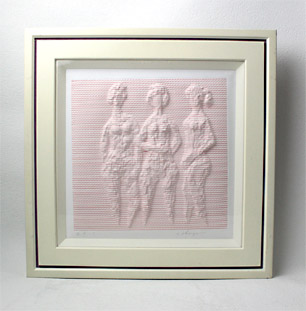 木下 繁 「三人の女」