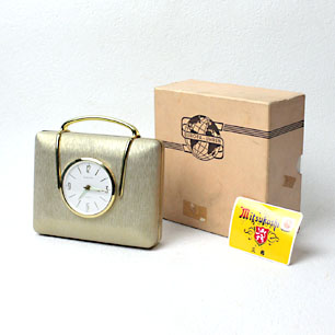 「EUROPA」 <br>Jewelry Case Fashion Clock