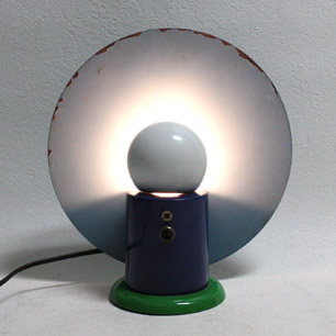 80's  Italy bieffeplast Table Lamp