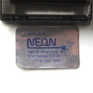 80's Postmodern Neon Clock
