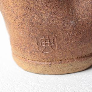 一足の陶芸 Vase