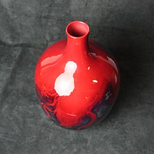 DOULTON RougeFlambe <br>Large Vase