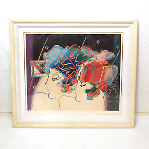 80's Peter Max <br>「Mondrian Ladies」