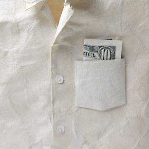 「LOVE」和紙 Sculpture