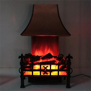 England 電気温風暖炉