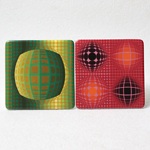 Vasarely Art Collection <br>Plate 1~6