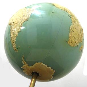 オーダーメイドの特大ヴィンテージ地球儀