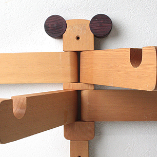 とんぼの壁掛けハンガー