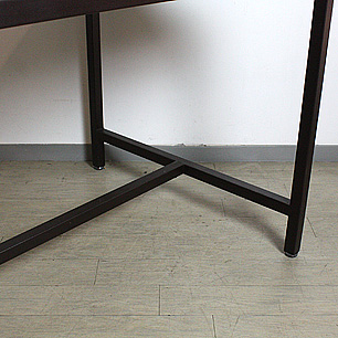 Elm Wood × Steel Frame<br>Working Table