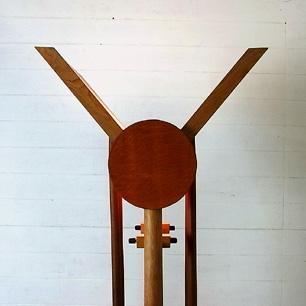 Japan Craft <br>Oak Wood × Walnut<br>Floor Stand Lamp