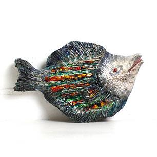 Seyei China Fish Wall Ornament