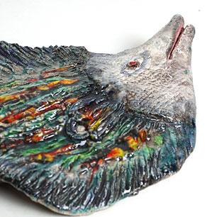 Seyei(セイエー)  森正美作 魚のVintageアートピース