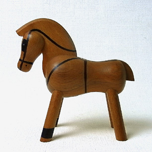 1stDesign1935 Denmark<br>Kay Bojesen<br>「 Pony with Harness」