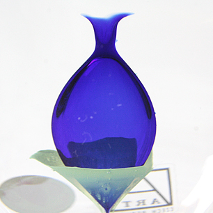 CZECH Bearanek Glass Sculpture