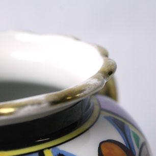 オールドノリタケ (Eary Noritake)<BR>  a pair of Vases