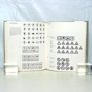 1977 Germany <br>Otl Aicher & Martin Krampen <br>「Zeichensysteme」<br>