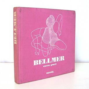 1969 France <br>Editions Denoel「BELLMER」