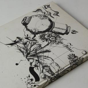 『漆あるいは水晶狂い』 渋沢孝輔<br>特製限定55部 加納光於版画 桐箱入